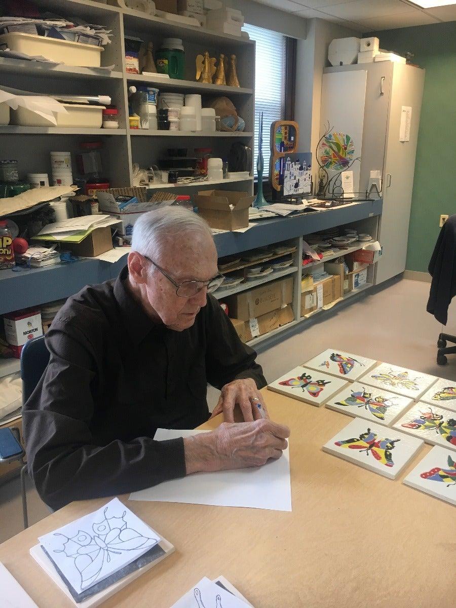 Letter Writing Among Seniors