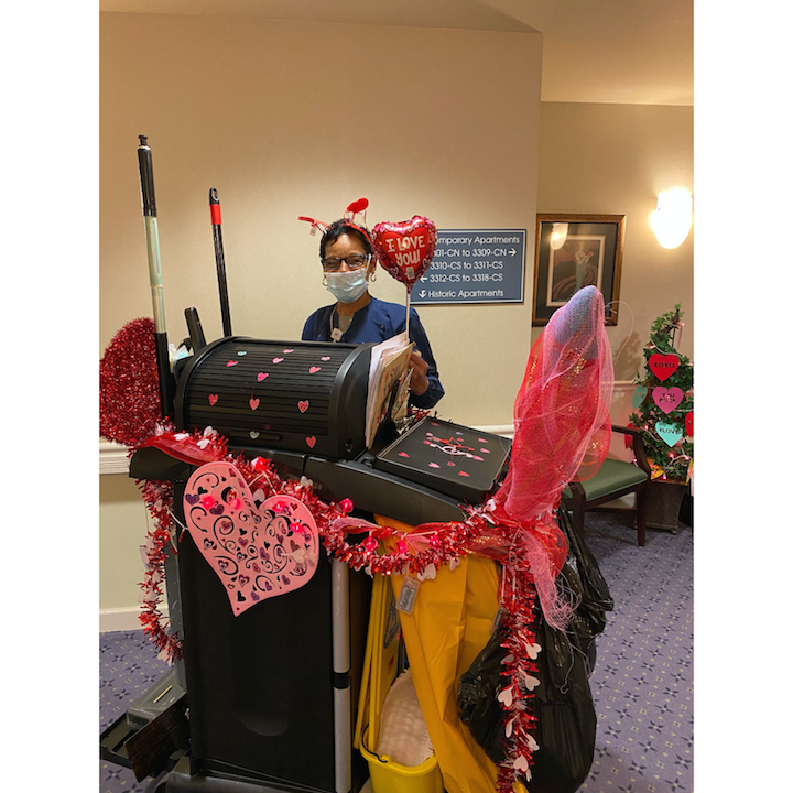 The Bedazzler Sparkles Again at Eastcastle Place Senior Living