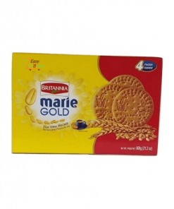 Britannia Marie Gold Biscuits 600 gm (4 pack)