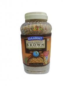 Daawat Brown Basmati Rice 5 Kg (Jar)