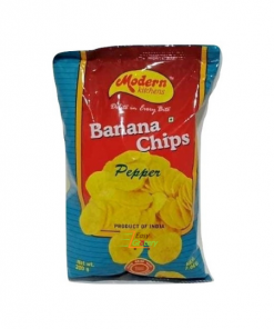 Modern Kitchen Pepper Banana Chips 200 gm