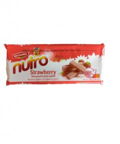 Britannia Strawberry Wafers Nutro 75 gm
