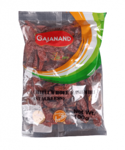 Gajanand Chilli Whole Kashmiri Stick Less 100 gm