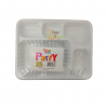 Party 5 Compartment Plates 25 Pc