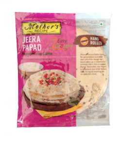 Mothers Recipe Hand Rolled Jeera Papad 200 gm