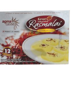Apna Taste Kesar Rasmalai 850 gm