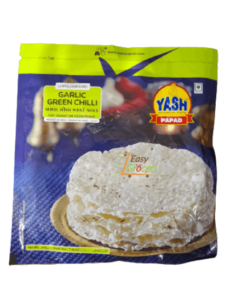 Yash Garlic Green Chilli Papad 200 gm