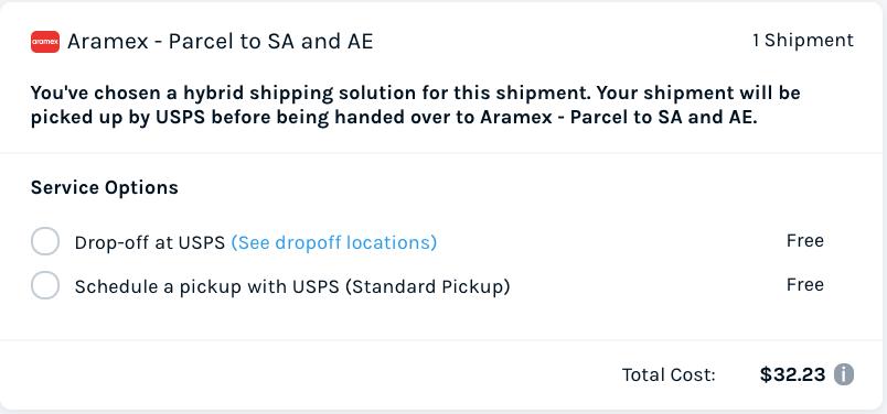 Aramex Hybrid Solution