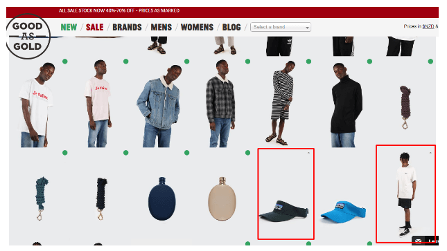 Easyship x Good as Gold - Out of stock example 7
