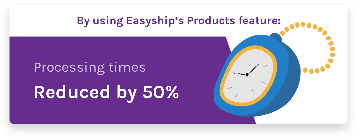 Products feature reduced processing times by 50%
