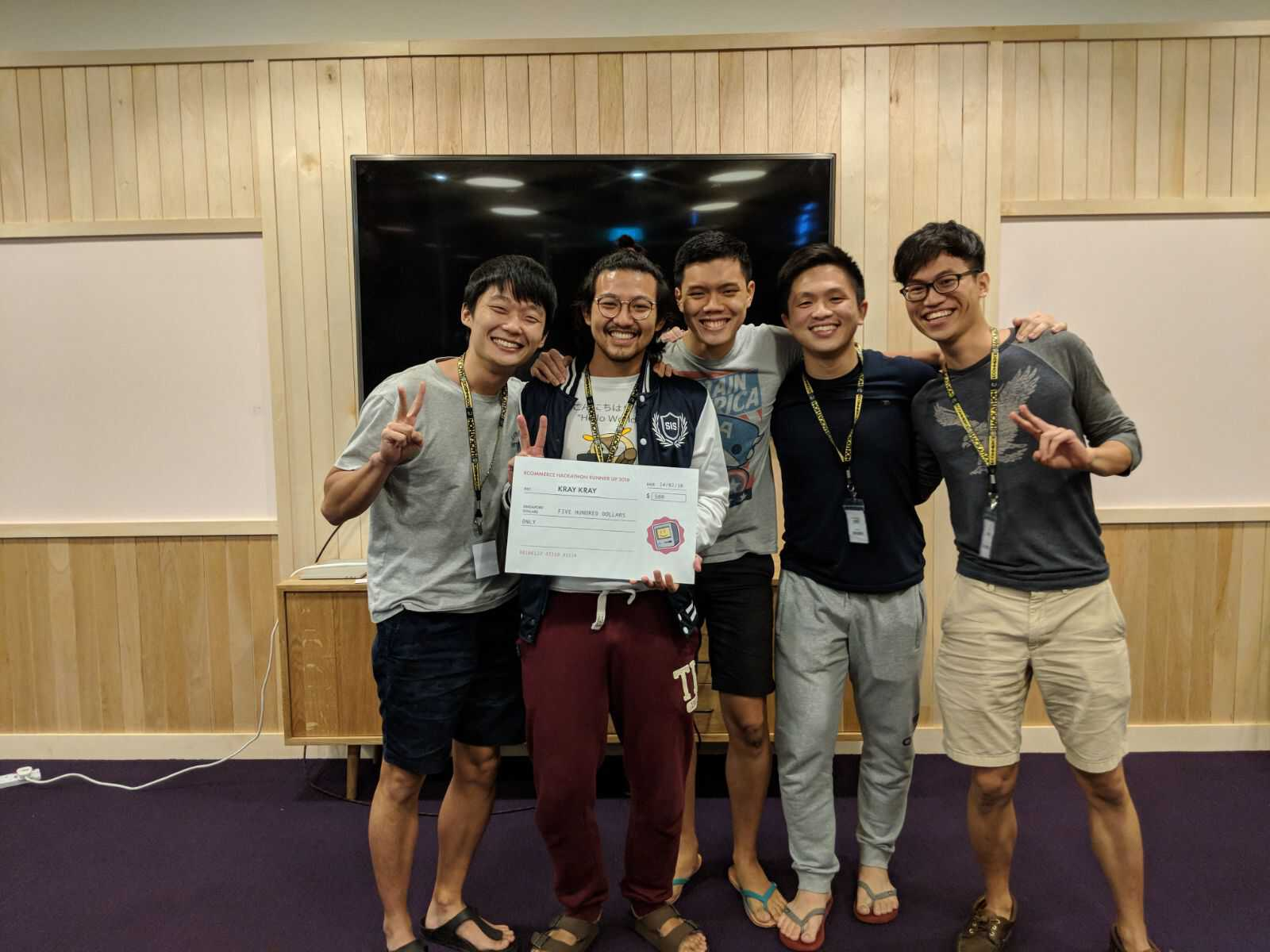 Ecommerce Hackathon SG - Team Kray