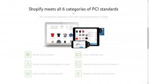3. PCI Compliant - Shopify