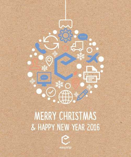 Easyship Christmas card