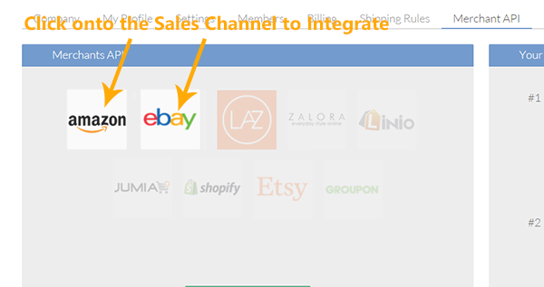 Ebay & Amazon - Integration