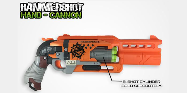 Nerf Hammershot Hand Cannon Barrel Kit