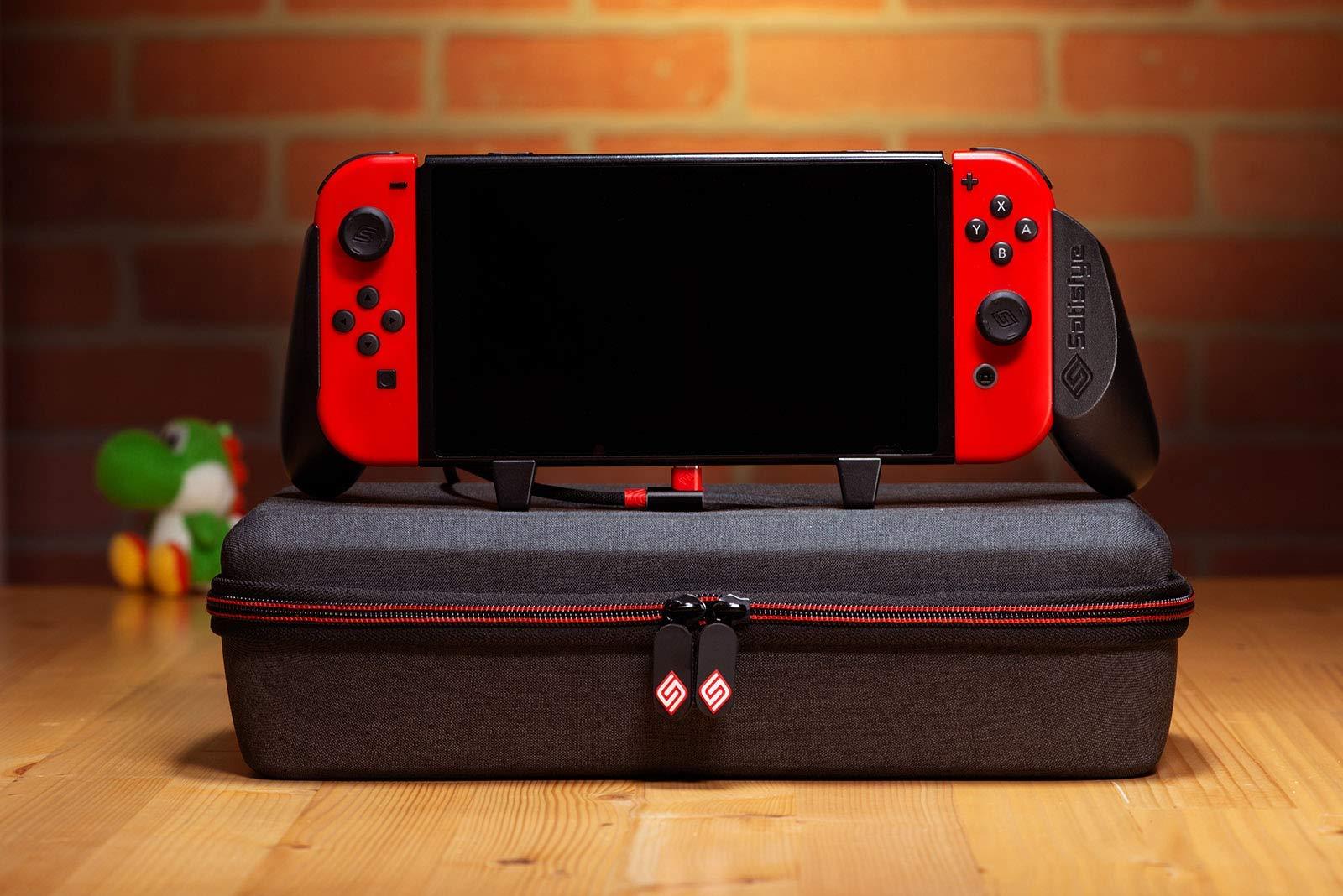 L'impugnatura e la custodia da gioco Satisfye, i migliori accessori Nintendo Switch.