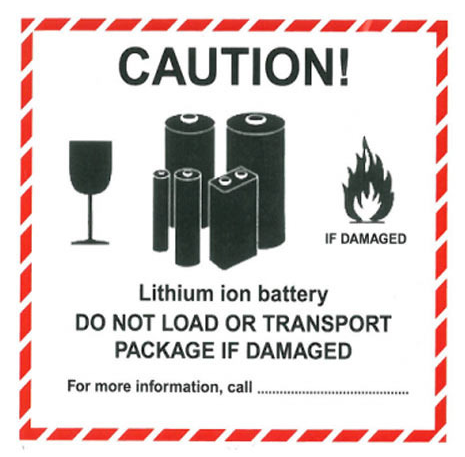 Declaration to Print to Ship Lithium Battery