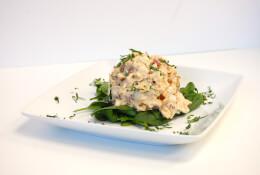 Vegan Mango Chutney Chicken Salad (1lb)