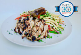 Thai Ginger Chicken with Chili Zoodles