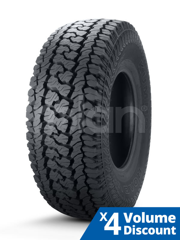 265 70R17 In Inches >> Details About 4 X Kumho Tyre 265 70r17 Lt Inch 121 118r Road Venture At51