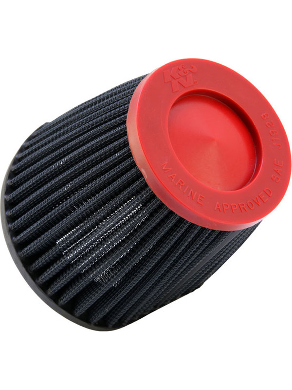 K&N Round Tapered Marine Flame Arr… Red FOR KAWASAKI JT1100 STX 1071 (59-2040RR)