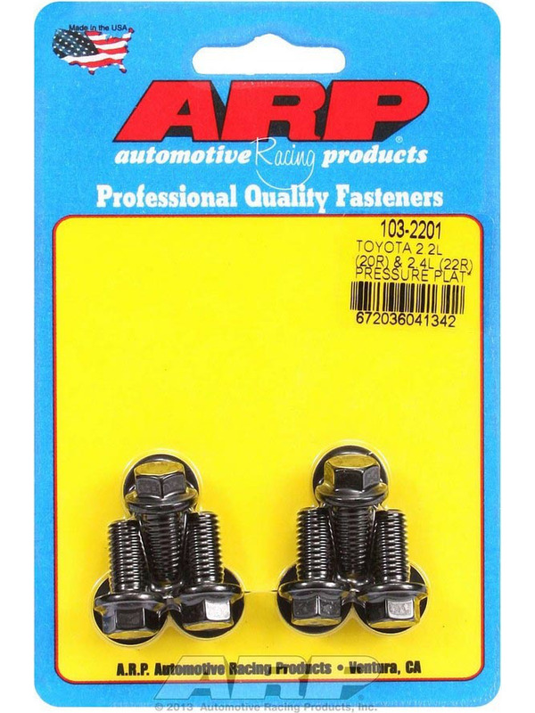ARP 1502201 High Performance Series Clutch Cover//Pressure Plate Bolt Kit