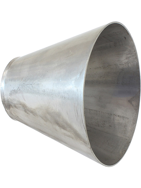 AF9588-2550 Aeroflow Stainless Steel Transition Cone 2-1//2 x 5 x 4 Inch Long