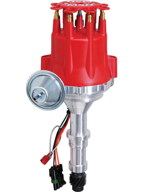 Details about MSD Distributor Ready-To-Run Vacuum Advance Buick 400 430 455  (8552)