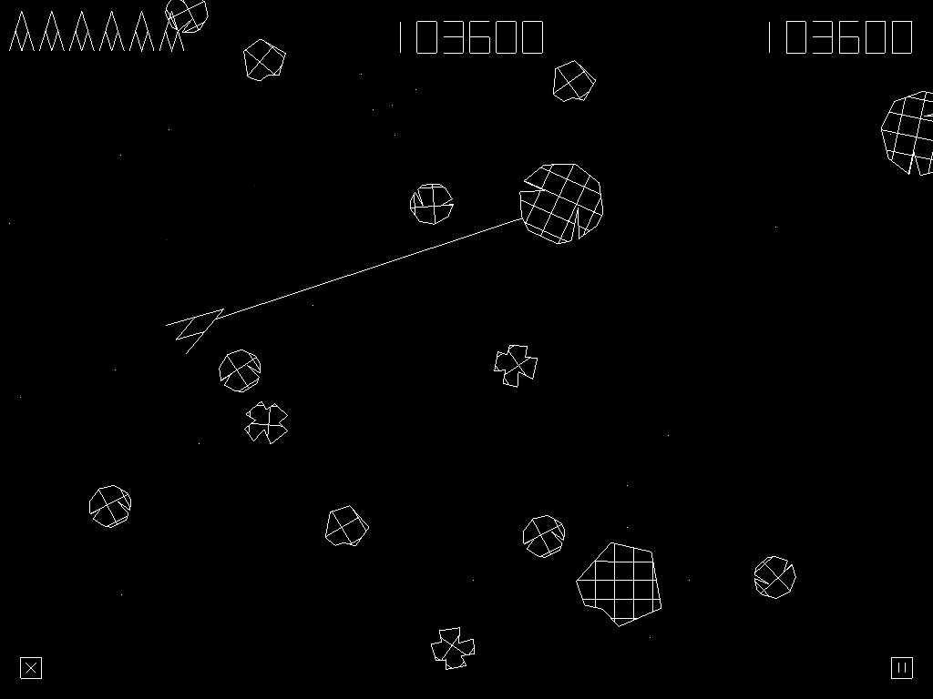 Illustrative screenshot of the game Tractor Beam