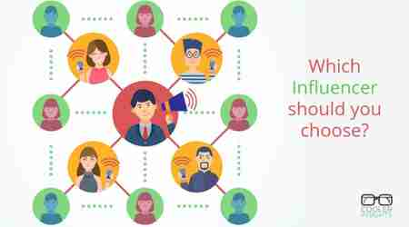 Which influencer should you choose?