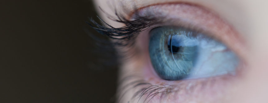 Echo-NHS-Healthcare-Open-Eye-Up-Close-Frame