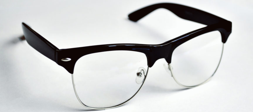 Echo-NHS-Healthcare-Black-Rimmed-Glasses