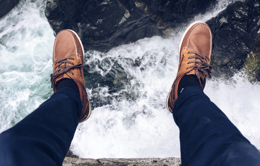 Echo-NHS-Healthcare-Feet-Dangling-Over-Cliff