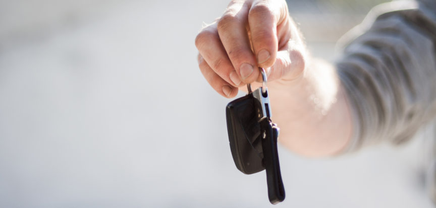 Echo-NHS-Healthcare-Hand-Holding-Car-Keys