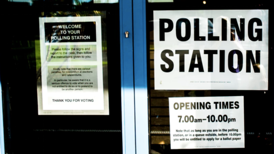 NHS Healthcare Polling Station | Echo