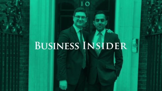 Business Insider: Echo's co-founders at 10 Downing street | Echo