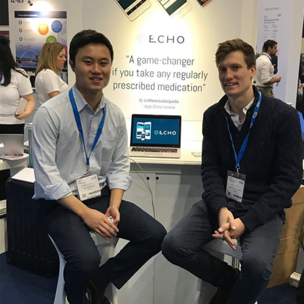 Dr George Cherry and Dr James Soo at the NHS Expo 2017 | Echo