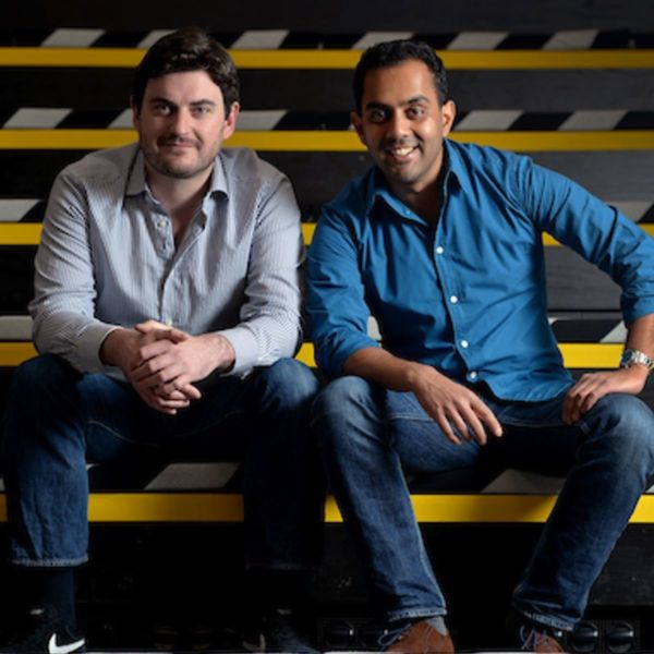 Echo's cofounders Stephen Bourke and Sai Lakshmi | Echo