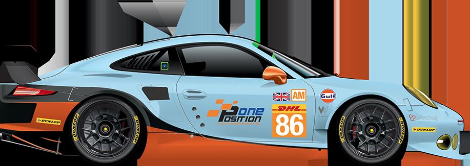 86 Porsche 911 Rsr 991 Fia World Endurance Championship