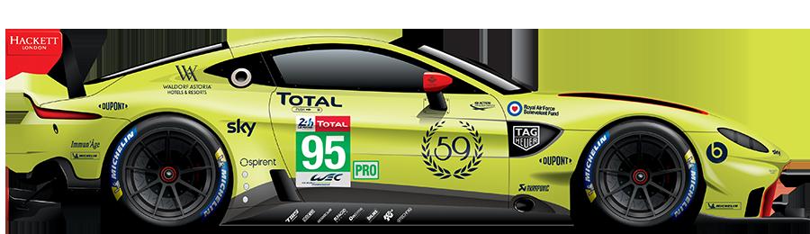 95 Aston Martin Vantage Amr Fia World Endurance Championship