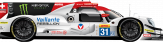 # VAILLANTE REBELLION Oreca 07 - Gibson