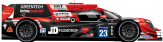 # PANIS BARTHEZ COMPETITION Ligier JSP217 - Gibson