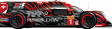 # REBELLION RACING Rebellion R13 - Gibson