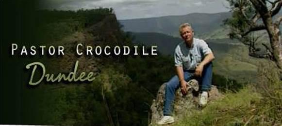Pastor Crocodile Dundee