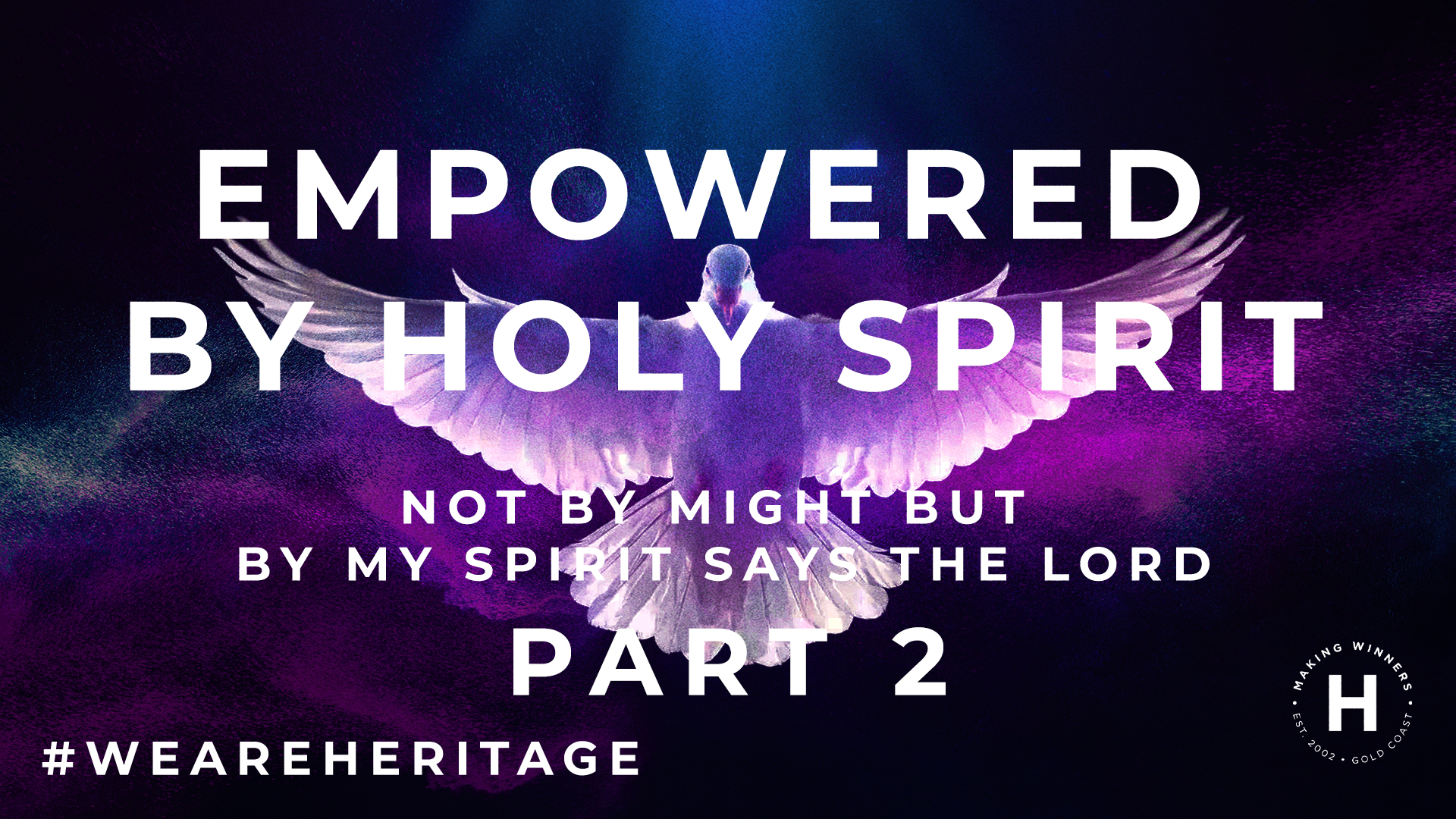 Empowered by the Holy Spirit: part 2