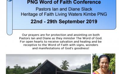 Missions Newsletter: September 2019