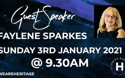 Special Guest Speaker | Faylene Sparkes
