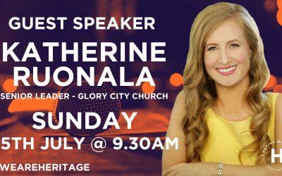 Guest Speaker Katherine Ruonala