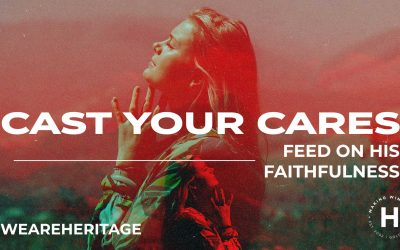 Cast Your Cares | Ps Shaun Smit | August 8, 2021