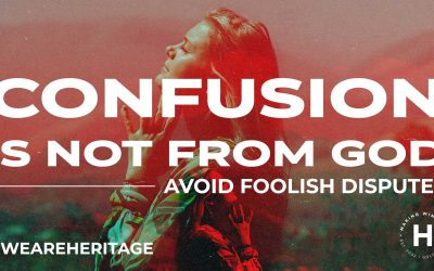 Confusion is not from God | Ps Shaun Smit | August 15, 2021